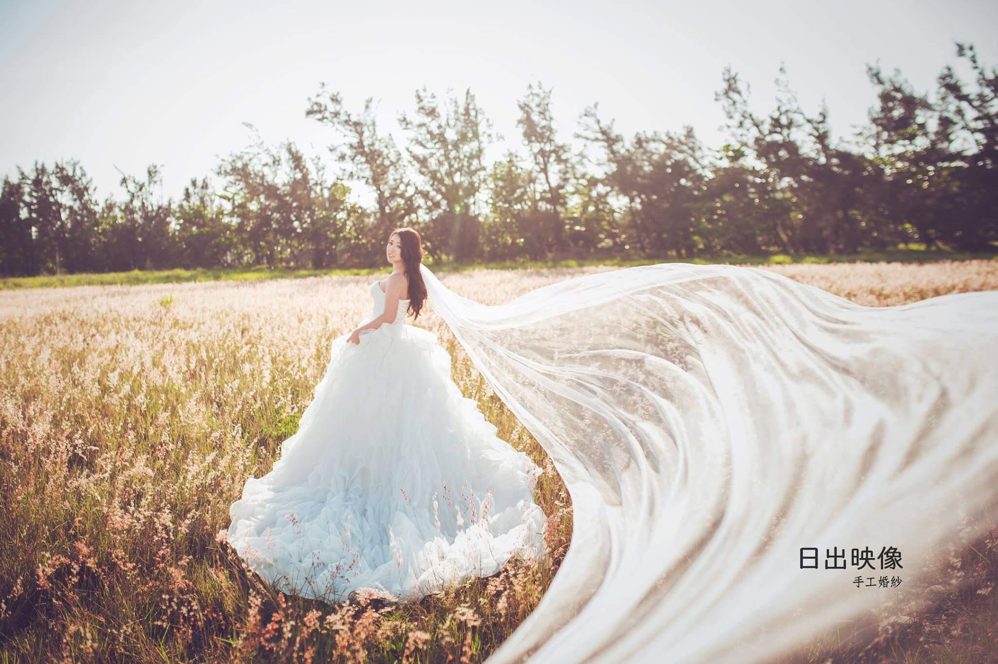 傳統婚紗優點-日出映像台中婚紗店